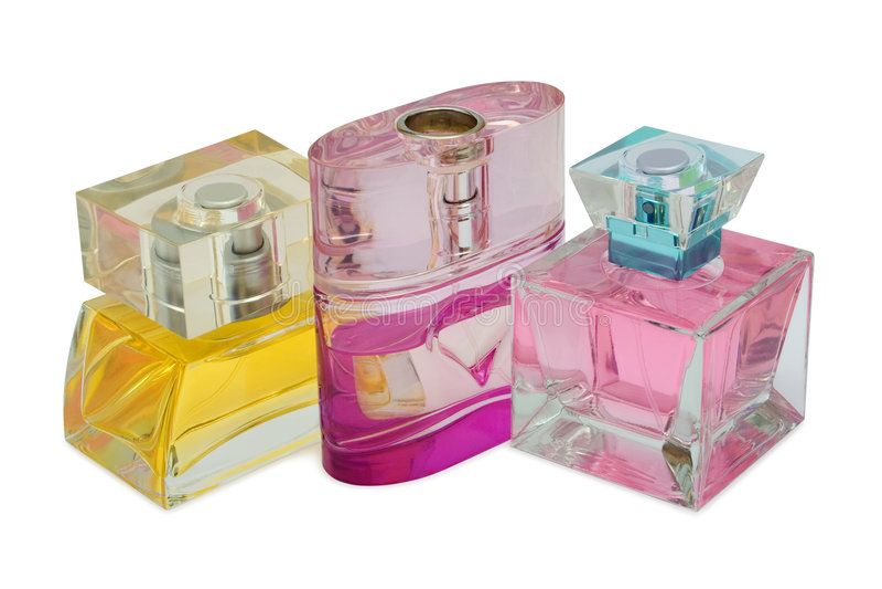 Flaschen Duftstoff lizenzfreie stockfotografie