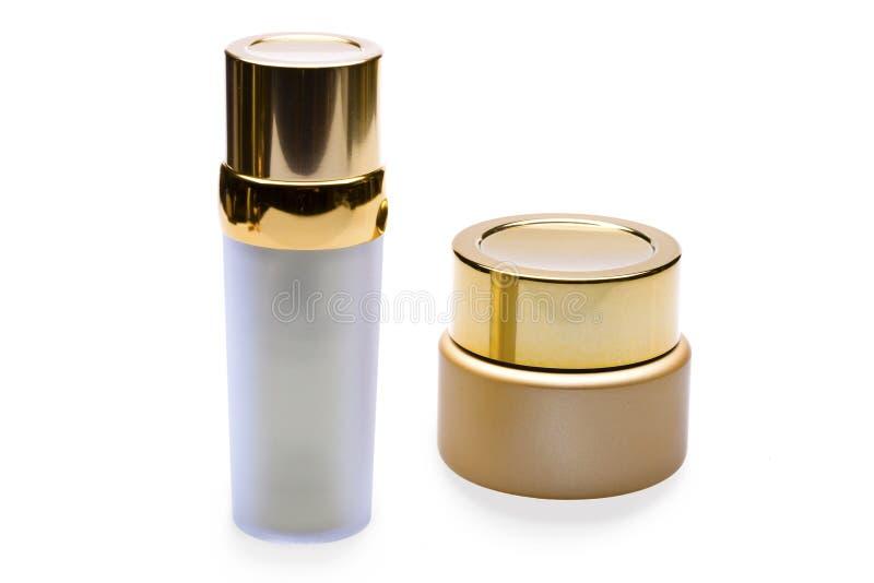 Flaschen für Kosmetik lizenzfreies stockfoto