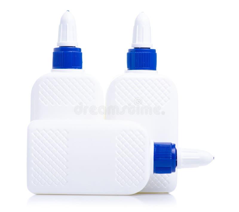 Flaschen Kleber stockfotografie