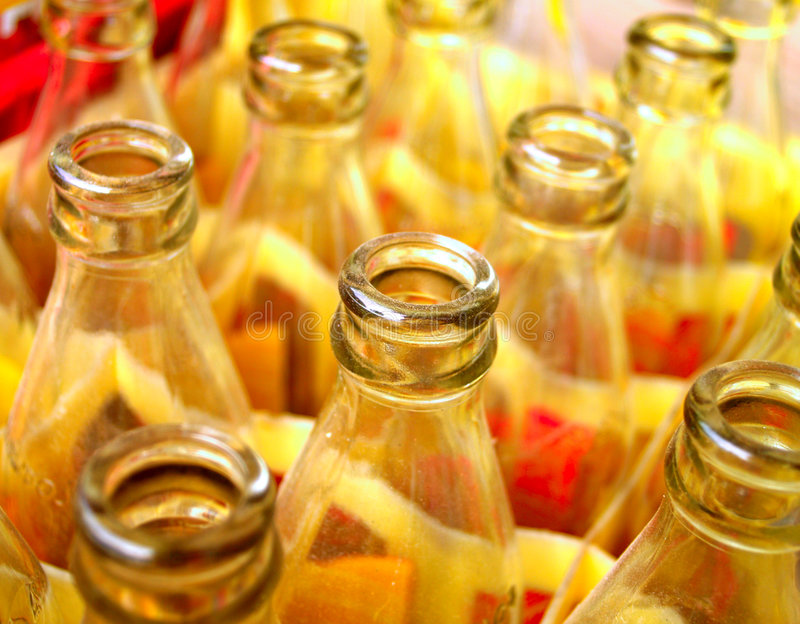Flaschenfoto lizenzfreies stockbild