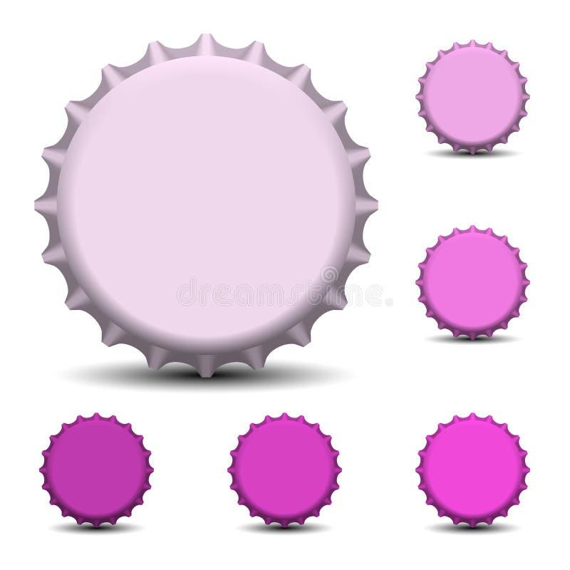Flaschenkapselvektor vektor abbildung