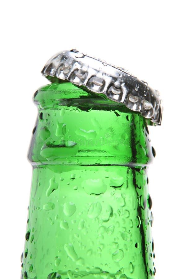 Flaschennahaufnahme getrennt lizenzfreie stockfotografie