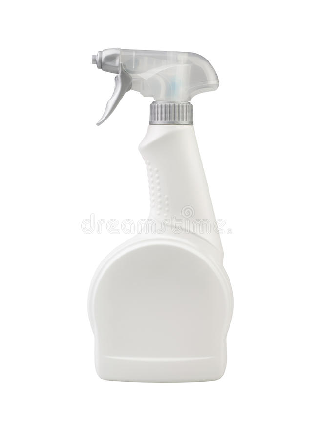 Flaschenspray stockbild