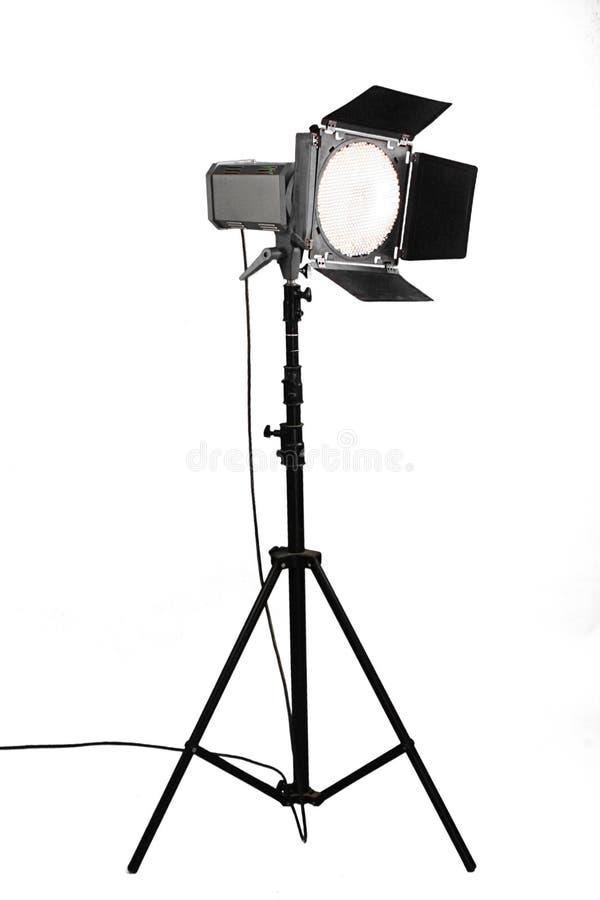 Flasf do estúdio fotografia de stock