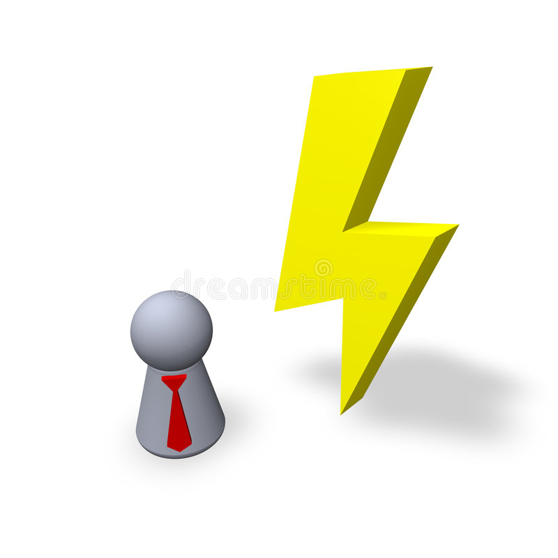 Flash ilustração stock