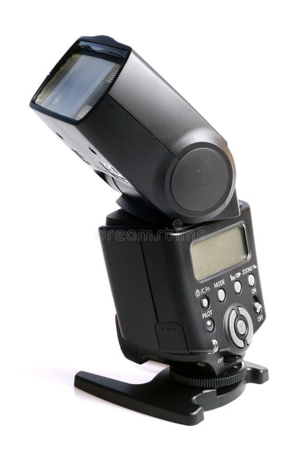 Flash de la cámara fotografía de archivo
