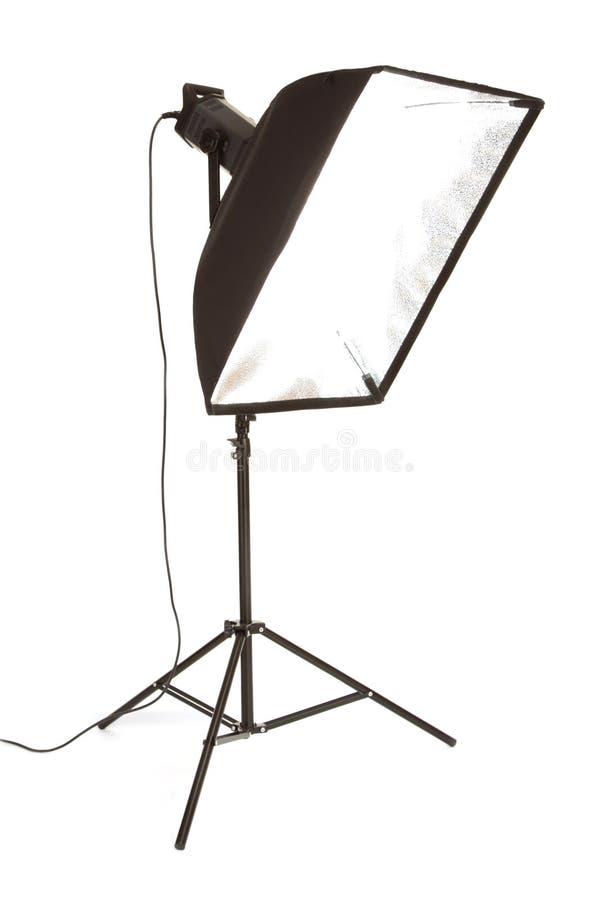 Flash dello studio fotografia stock libera da diritti