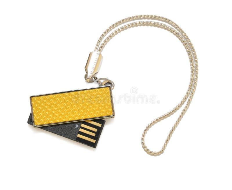 Flash do USB fotografia de stock