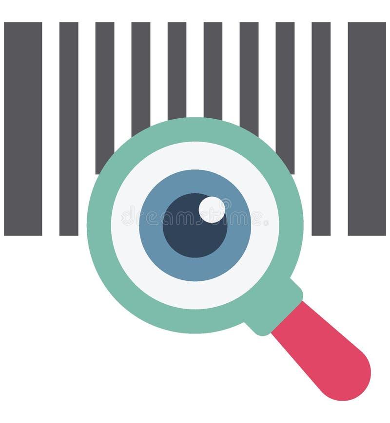 Flash-Karte, codierte Karte, Gedächtnispatrone, Speicherchip, Sd-Karte, Flash-Karten-Vektor, Ikone, stock abbildung