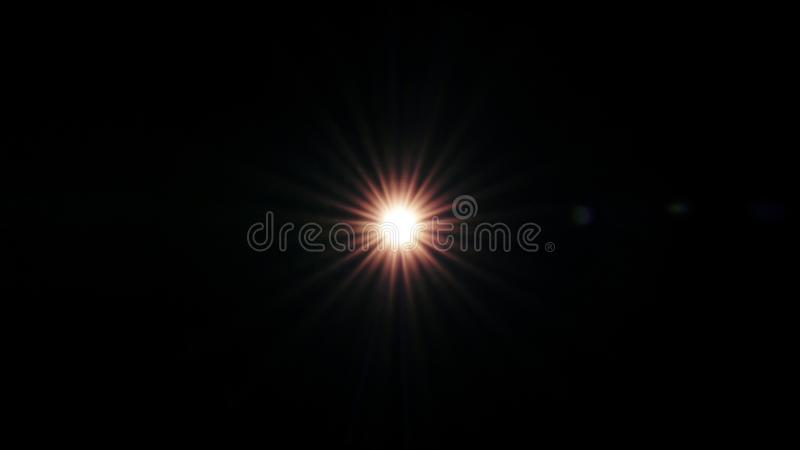 Flash light ray Black background using Layers mode Screen royalty free stock images