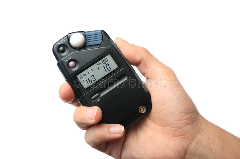 Download Flash meter stock photo. Image of button, aperture, expertise - 14444180