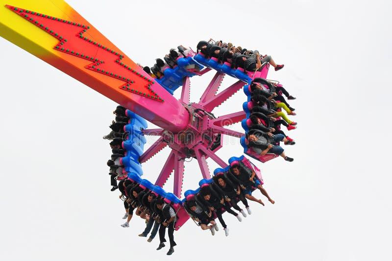 Flash ride at ocean park hong kong stock image