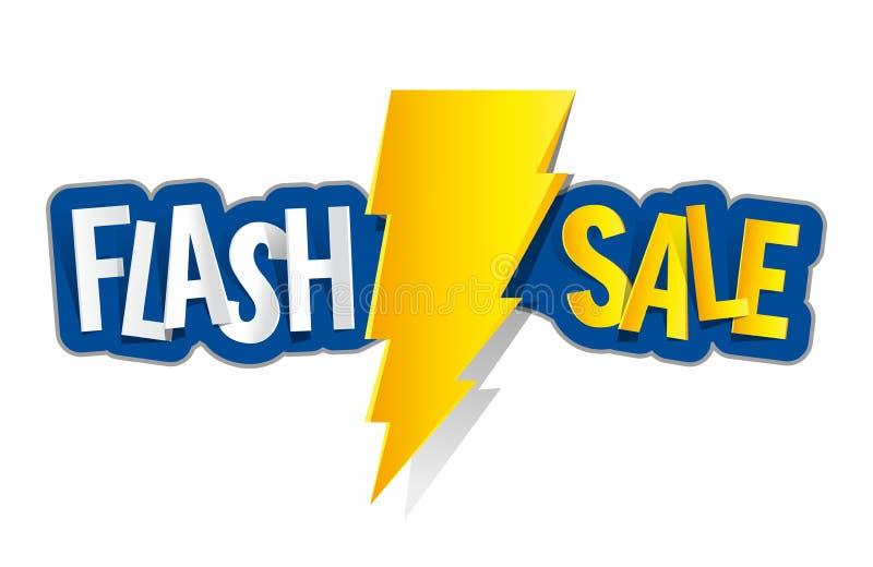 Flash Sale vector illustration