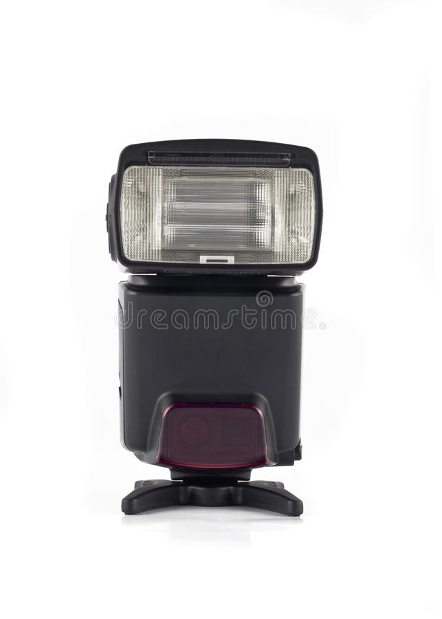 Download Flash On Stand For Digital Camera Isolated Stock Image - Image: 10499245