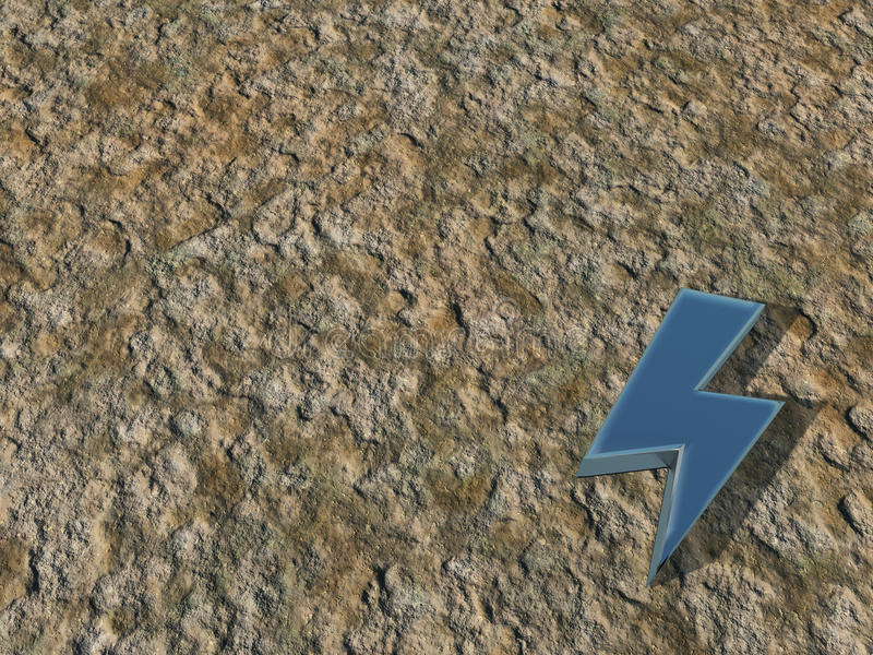 Download Flash symbol stock illustration. Image of rough, strike - 26290795