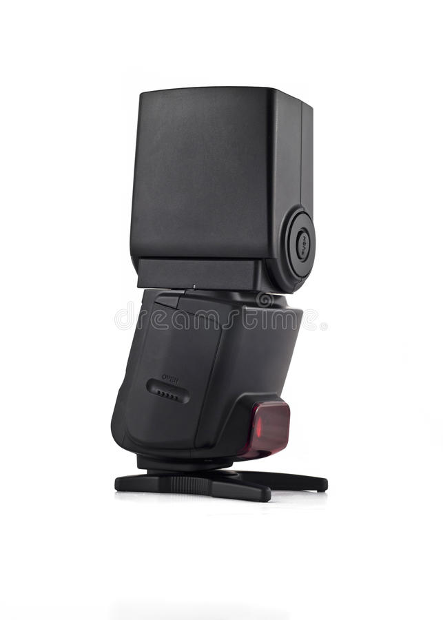Download Flash Unit For Digital Camera Isolated Stock Photo - Image: 10522610