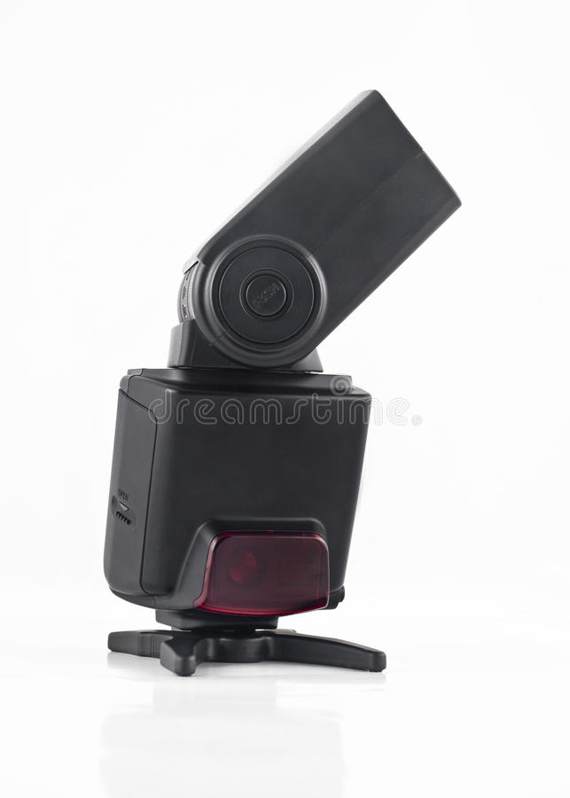 Download Flash Unit For Digital Camera Isolated Stock Image - Image: 10522621