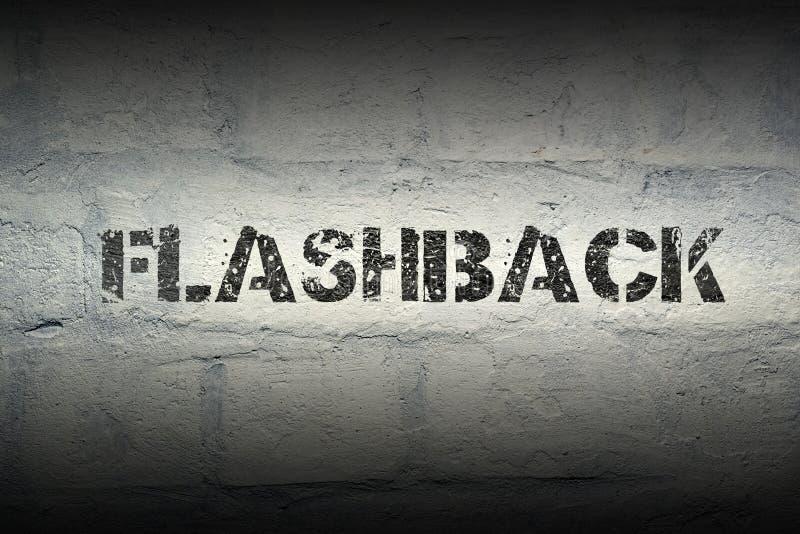 Flashback word gr stock images