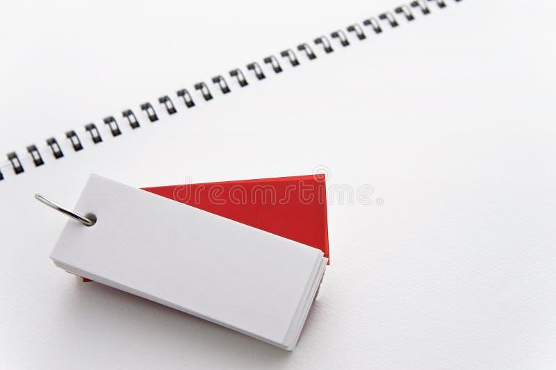 Flashcard стоковое фото