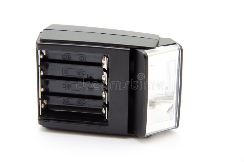 Flashgun per la macchina fotografica fotografia stock libera da diritti