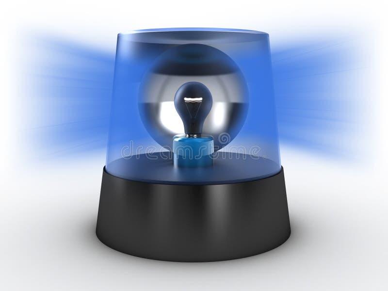 Download Flashing light stock illustration. Image of emergency - 21467434