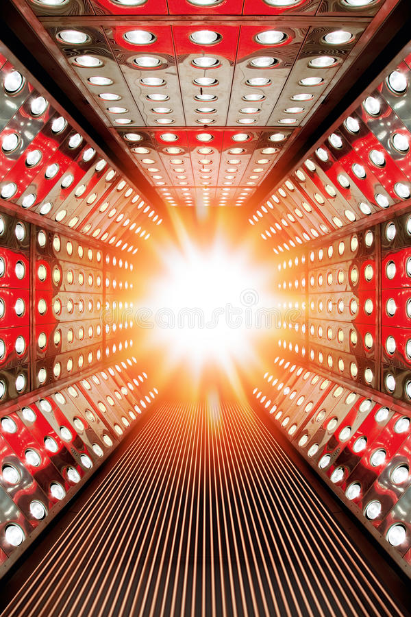 Download Flashing modern stage stock photo. Image of scene, bright - 26681970