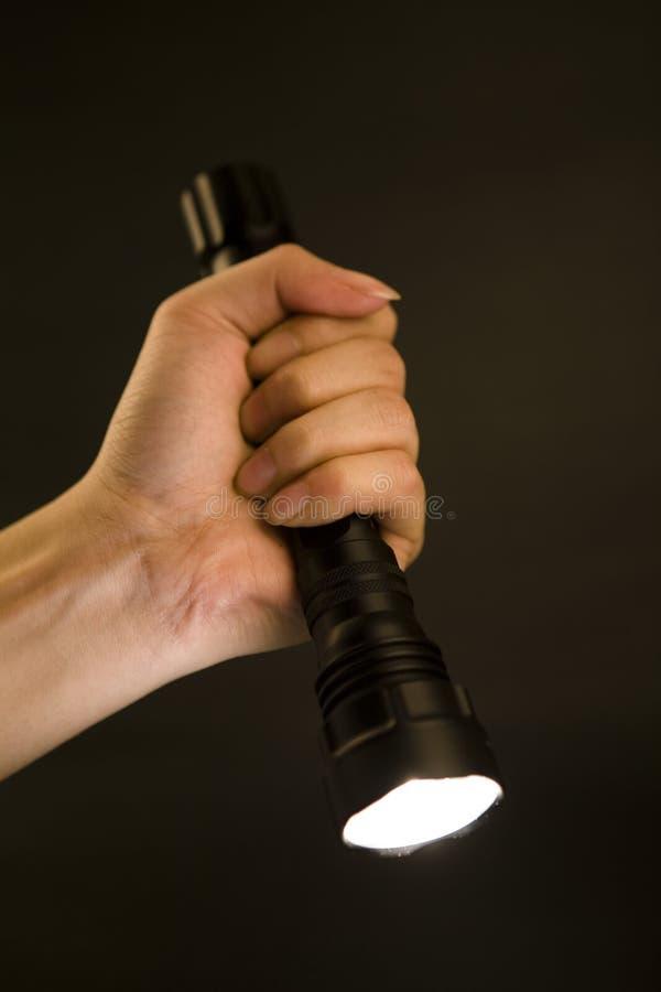 Free Flashlight In Hand, Royalty Free Stock Photos - 7619728