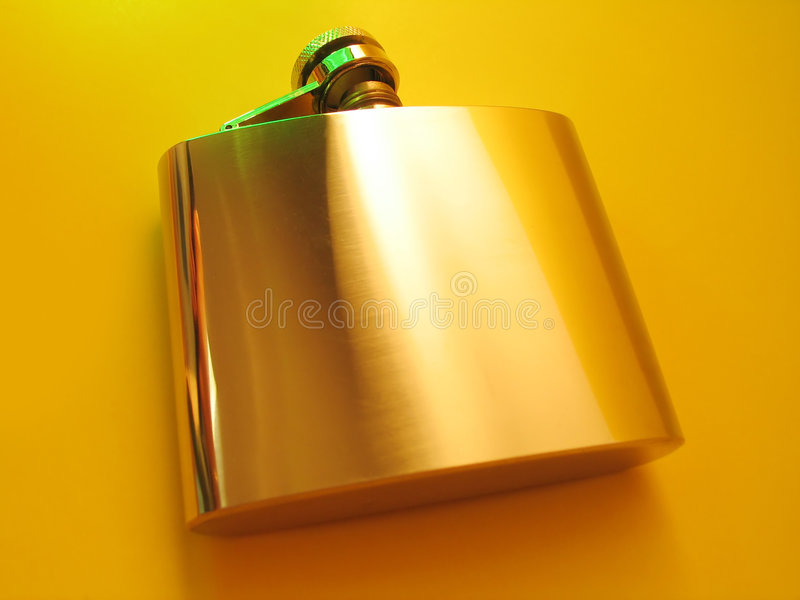 Download Flask stock photo. Image of party, cover, alcohol, steel - 26470