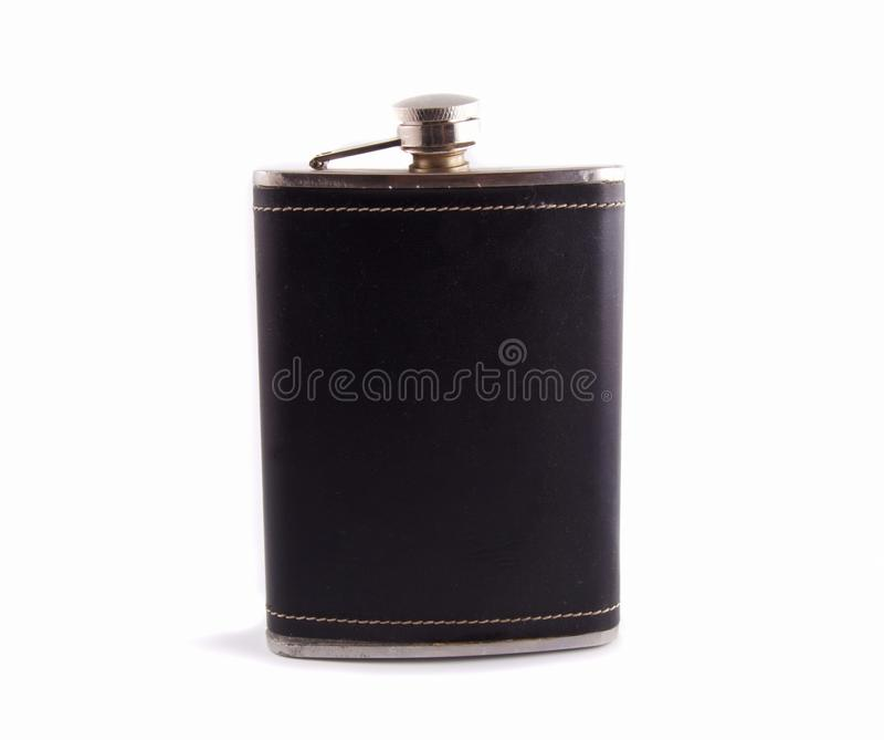 Download Flask for alcohol stock image. Image of nobody, black - 11917463