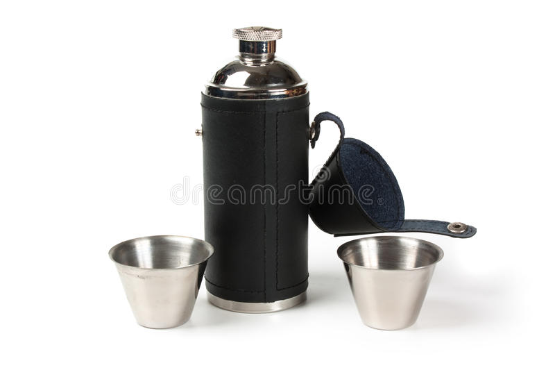 The Flask Of Brandy Royalty Free Stock Images
