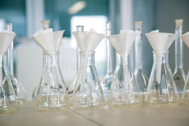 Download Flask In A Pharmacology Laboratory Stock Image - Image: 29698189