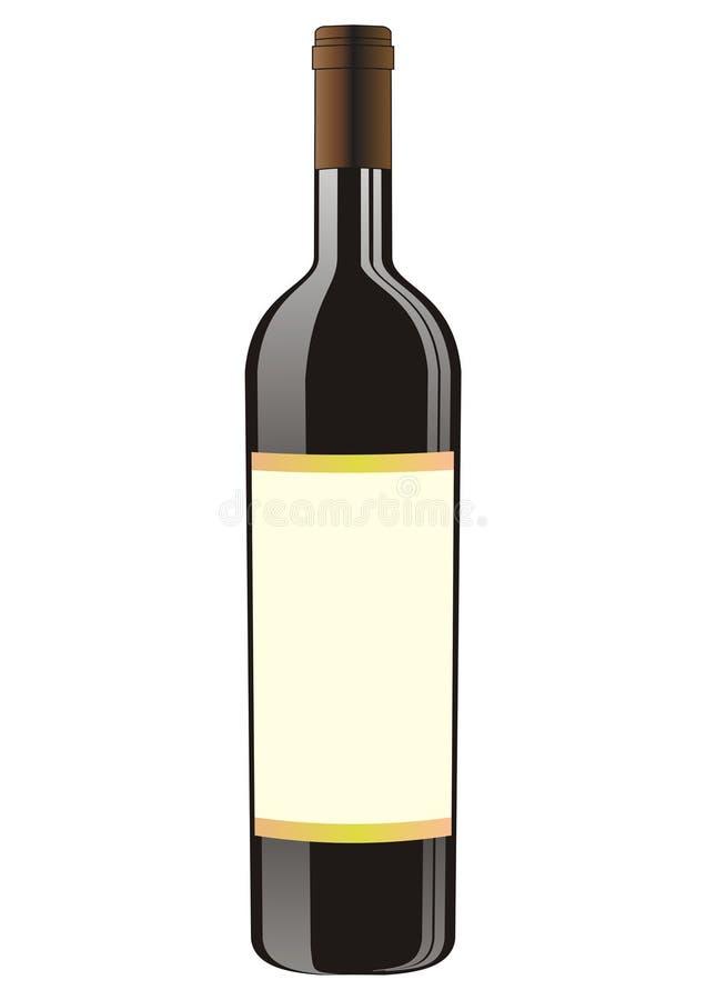 flaska royaltyfri illustrationer