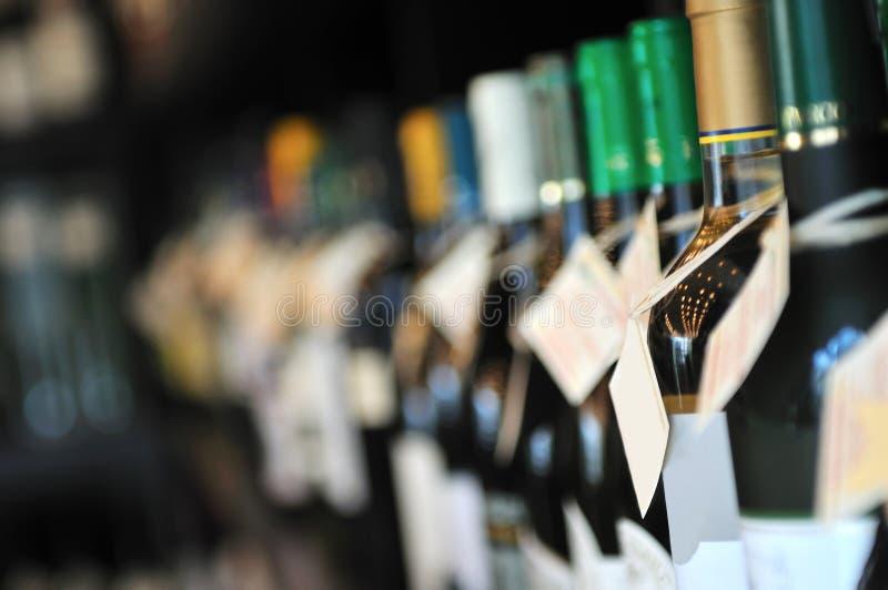 Flaska av wine fotografering för bildbyråer