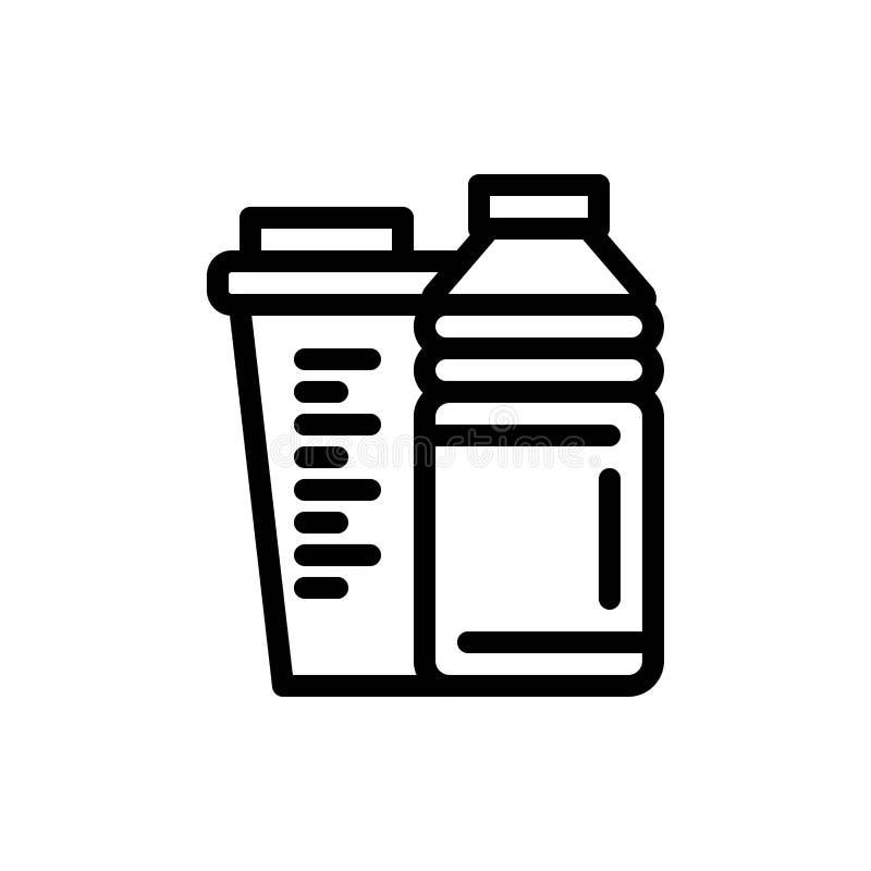 Flaska, drink, energi, shaker, sportblått och röd nedladdning och att köpa nu mallen för rengöringsdukmanickkort royaltyfri illustrationer