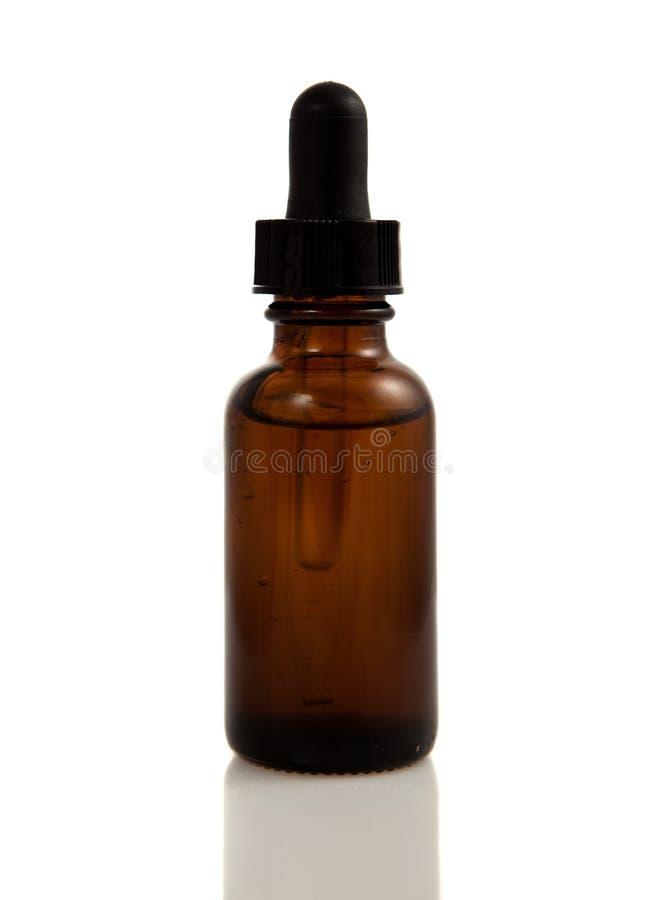 flaska isolerad tincture royaltyfria bilder