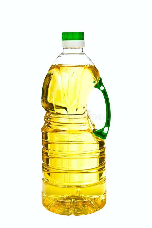 Flaska med olja royaltyfri fotografi