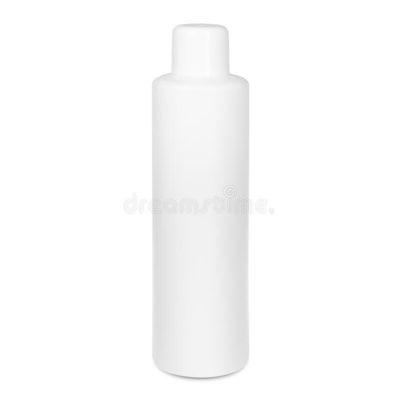 Flaska på vit backgroun royaltyfri illustrationer
