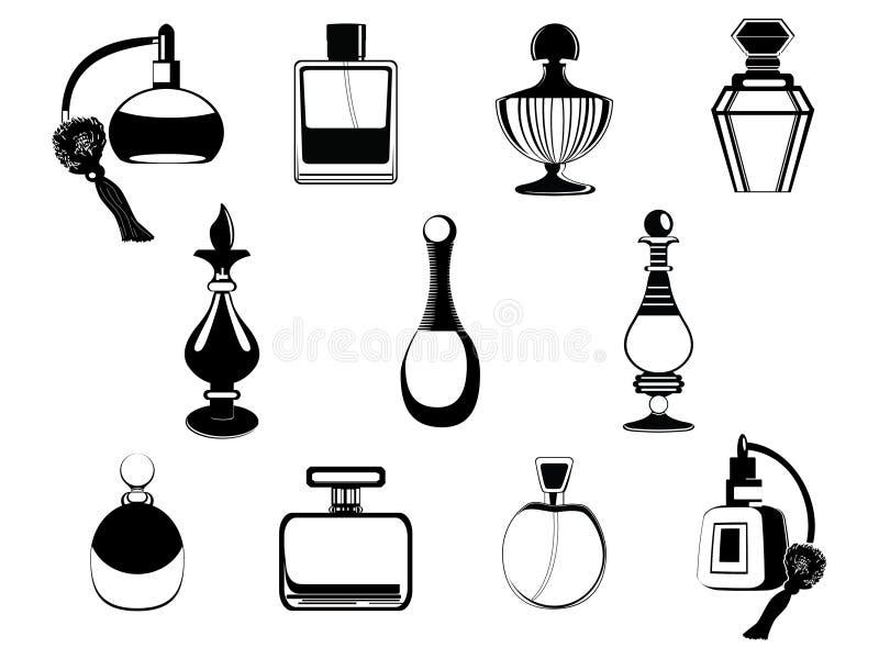 flaskdoft royaltyfri illustrationer