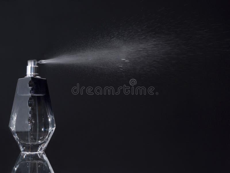 flaskdoft som spreaying fotografering för bildbyråer