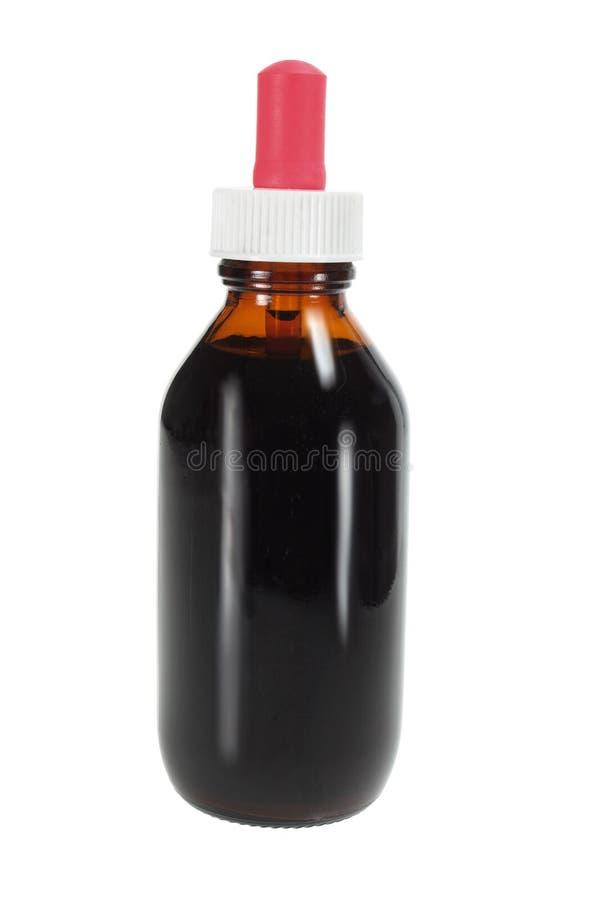 flaskdroppe fotografering för bildbyråer