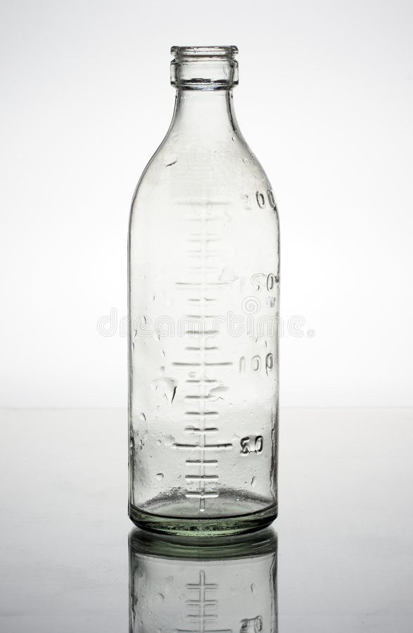 flaskexponeringsglas royaltyfria bilder