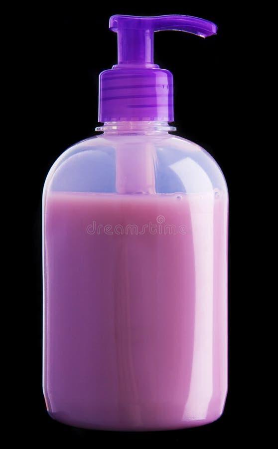 flaskgeltvål fotografering för bildbyråer