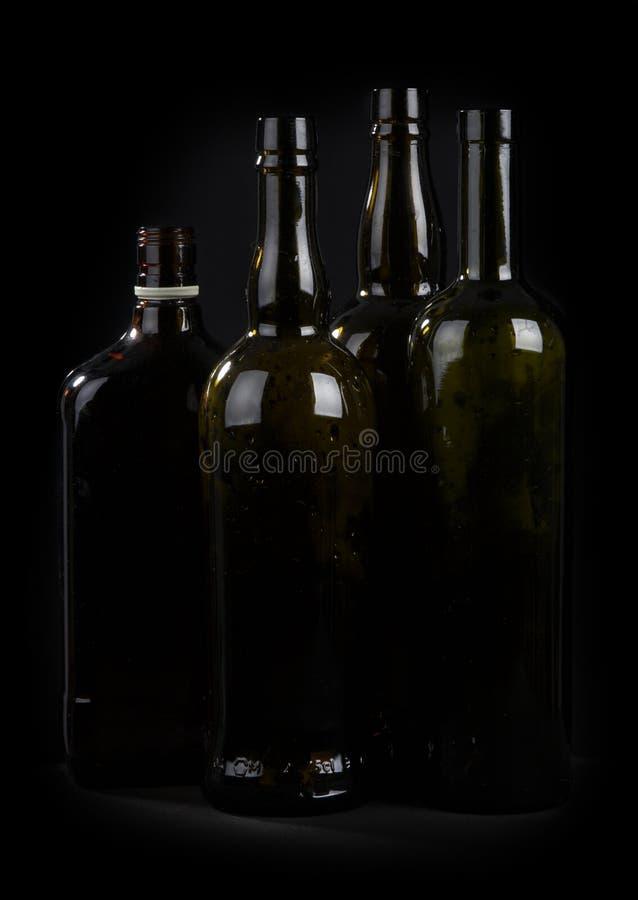 flasklinje arkivbild