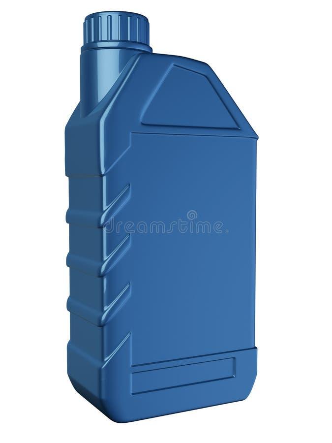 flaskmotorolja stock illustrationer