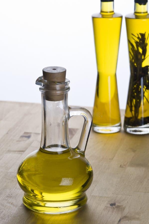 flaskoljeolivgrön fotografering för bildbyråer