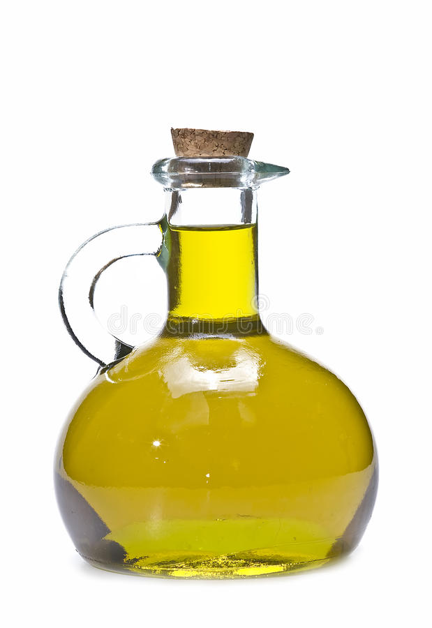 flaskoljeolivgrön royaltyfri foto