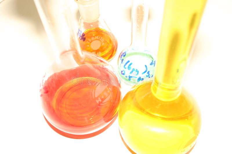 Download Flaskor fotografering för bildbyråer. Bild av experiment - 290971