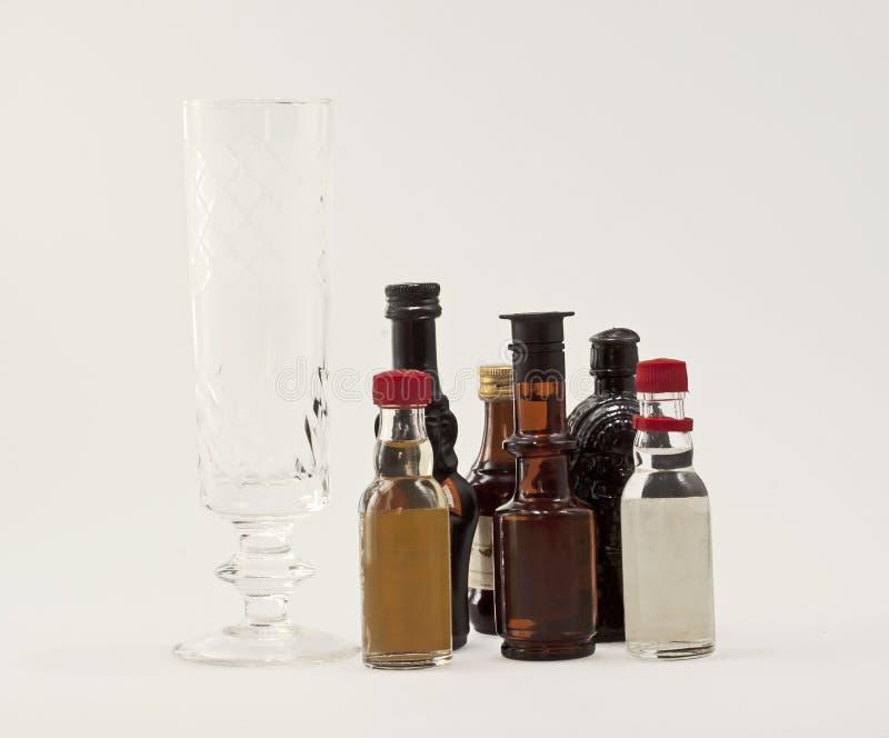flaskor little royaltyfri bild