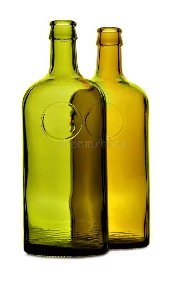 flaskor två royaltyfria bilder