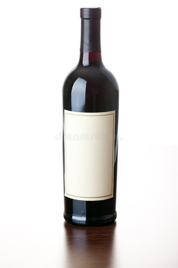 flaskrött vin fotografering för bildbyråer